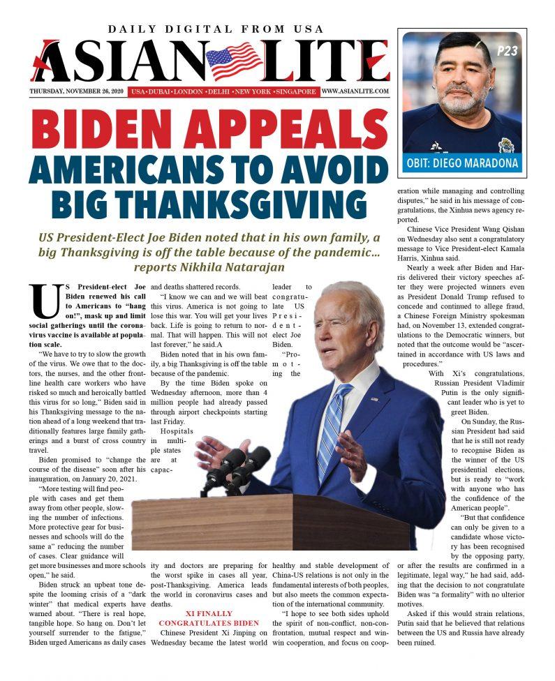 US DD Nov 26, 2020